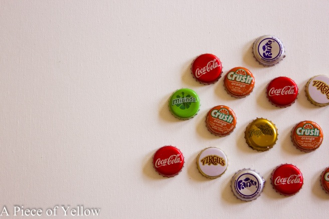 DIY Bottle Cap Magnets Recycled Bottle Caps