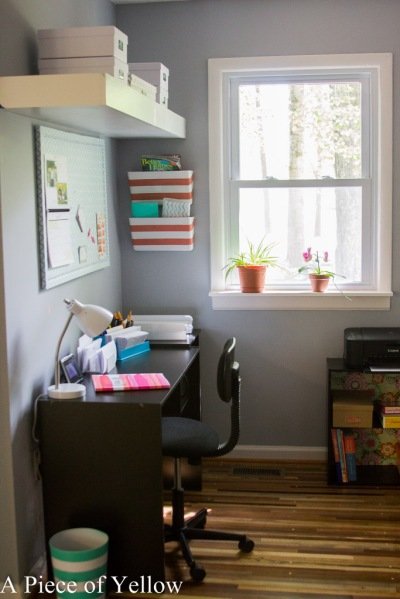 Office Reveal Before and After Office Organization Office Decor